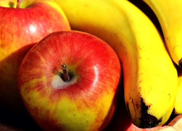 De gezonde kantine: appels en bananen