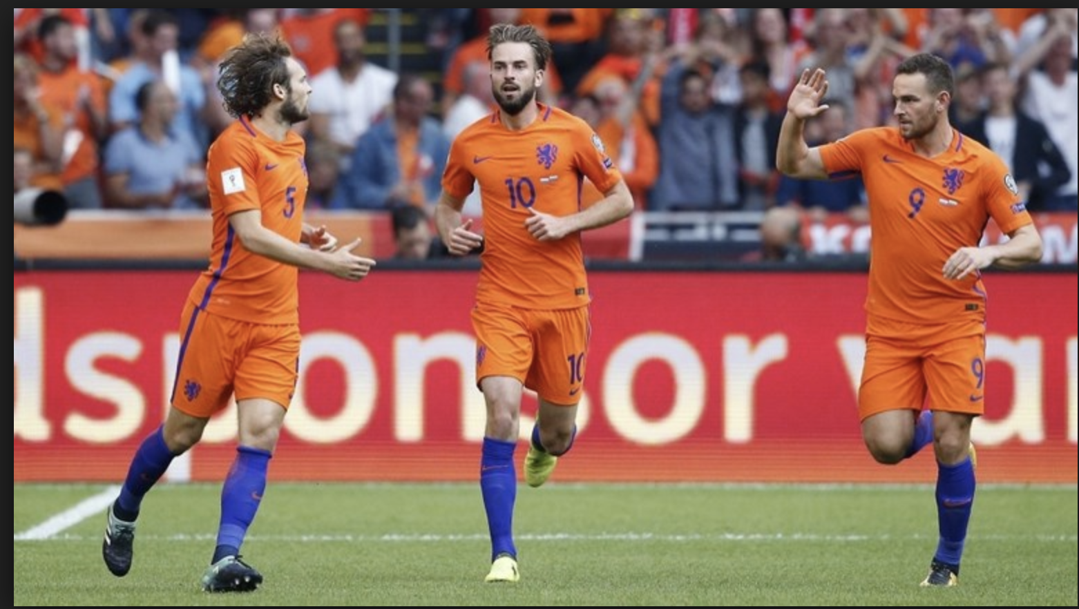 ING sponsort kaarten Nederlands Elftal