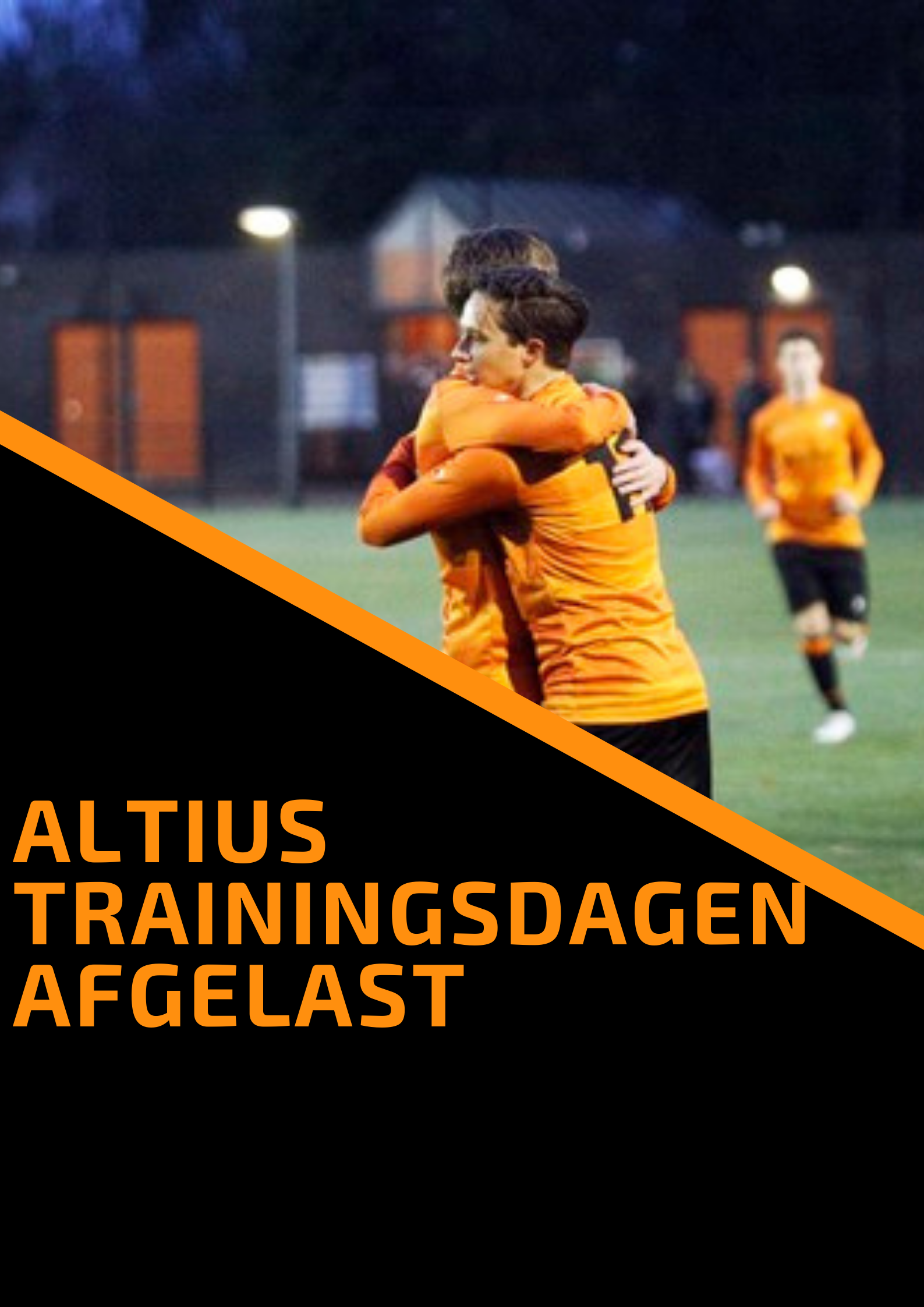 Trainingsdagen Altius - AFGELAST😢
