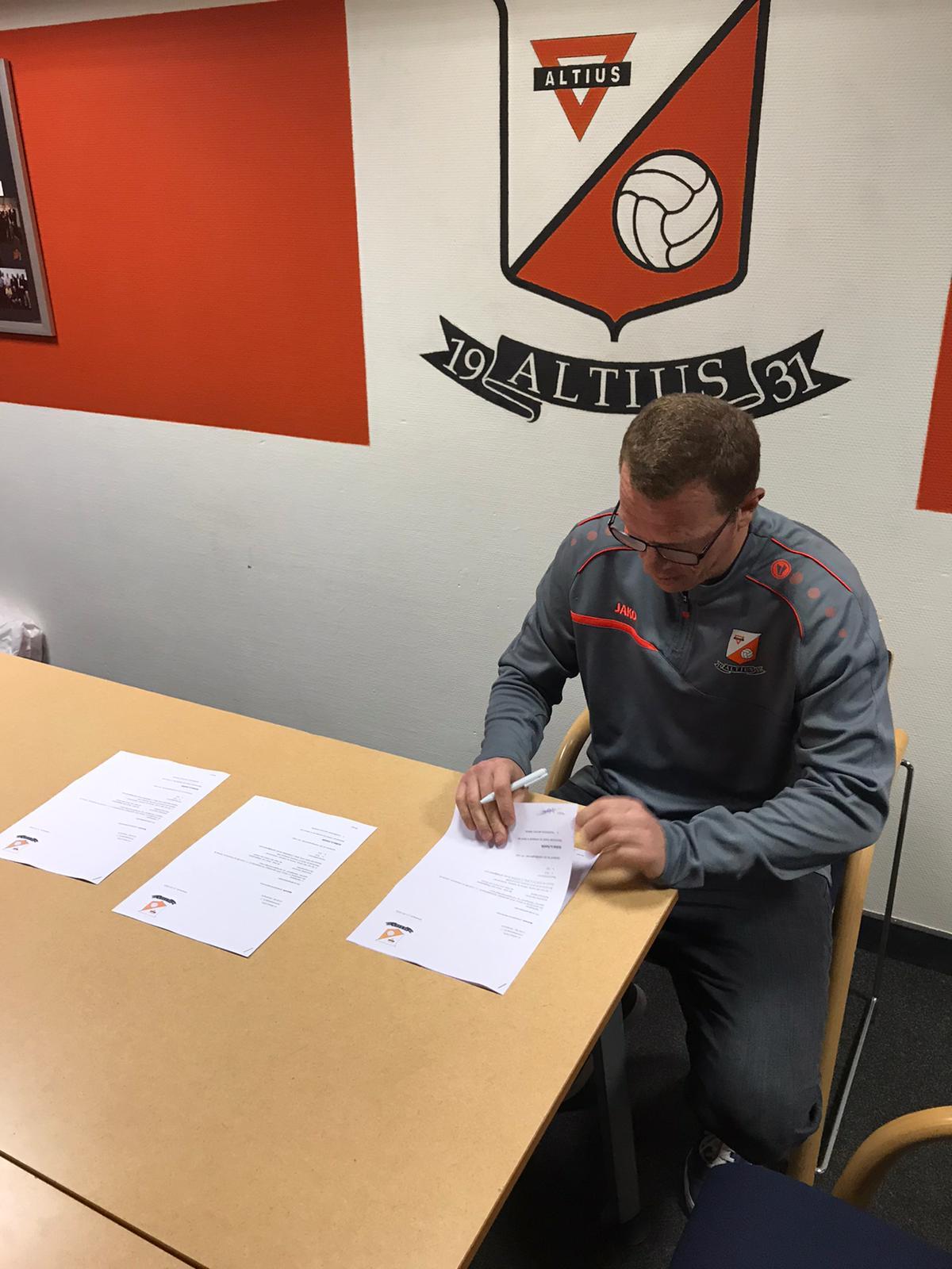 Altius presenteert nieuwe hoofdtrainer